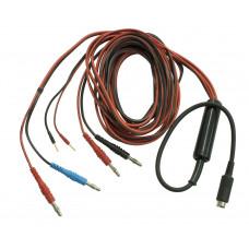 Комплексный кабель для подключения ручных, ножных и лобных электродов к аппаратам «ИМЕДИС-БРТ-А»,  «МИНИ-ЭКСПЕРТ-Д (комплектация 2)» и «ИМЕДИС-ЭКСПЕРТ»