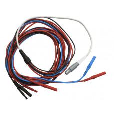 Комплексный кабель для подключения ручных, ножных и лобных электродов (СЕ)