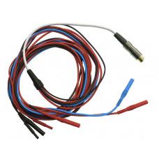 Комплексный кабель для подключения ручных, ножных и лобных электродов (MDN-CE)